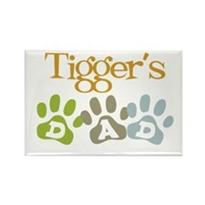 Tigger's Dad Rectangle Magnet