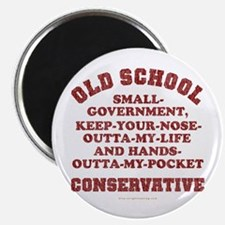 Old School Conservative Magnet