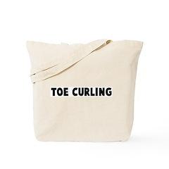 Toe curling Tote Bag