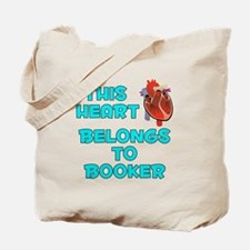This Heart: Booker (B) Tote Bag