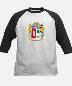 Ferentz Coat of Arms - Family Cres Baseball Jersey