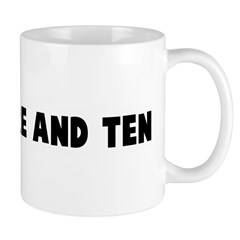 Threescore and ten Mug