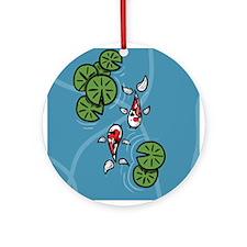 Fuku and Heiwa Ornament (Round)