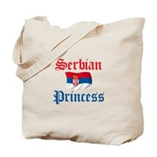 Serbian Princess Tote Bag