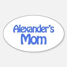Alexander's Mom Oval Decal