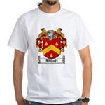 Abbott Family Crest White T-Shirt