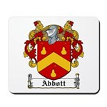 Abbott Family Crest Mousepad