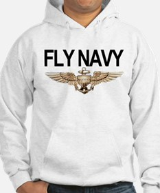 Fly Navy Wings Jumper Hoody