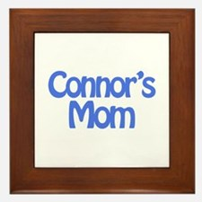 Connor's Mom Framed Tile