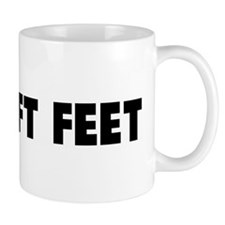 Two left feet Mug