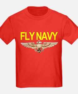 Fly Navy Wings T