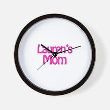 Lauren's Mom Wall Clock