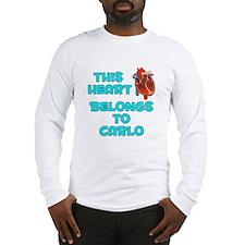 This Heart: Carlo (B) Long Sleeve T-Shirt