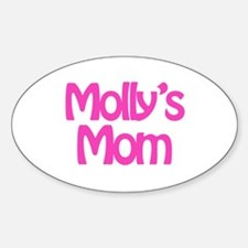 Molly's Mom Oval Decal