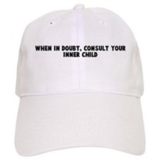 When in doubt consult your in Baseball Cap