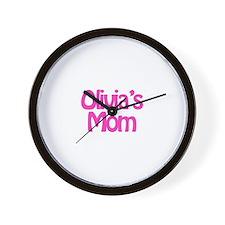 Olivia's Mom Wall Clock