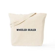Wheeler dealer Tote Bag