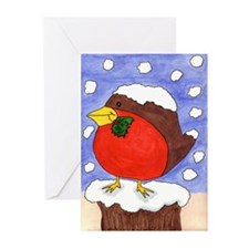 Christmas Robin (Pack of 6)