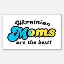 Ukrainian Mom Rectangle Decal