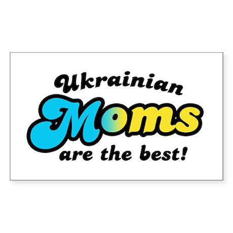 Ukrainian Mom Rectangle Sticker