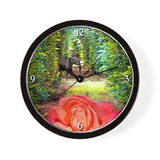 Rose & Elephant Clock
