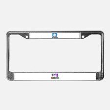 BABY ON BOARD License Plate Frame