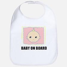 BABY ON BOARD Bib
