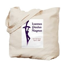 Santo Subito Tote Bag