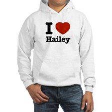 I love Hailey Jumper Hoody