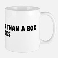 You are dumber than a box of  Mug