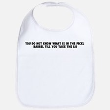 You do not know what is in th Bib