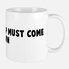 What goes up must come down Mug