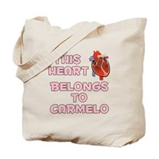 This Heart: Carmelo (C) Tote Bag