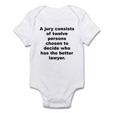 Funny Robert frost Infant Bodysuit