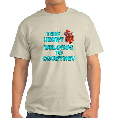 This Heart: Courtney (B) Light T-Shirt