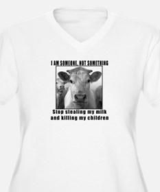 Quit beef and dairy!!! T-Shirt