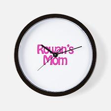 Rowan's Mom Wall Clock