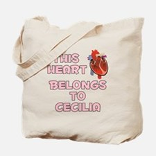 This Heart: Cecilia (C) Tote Bag