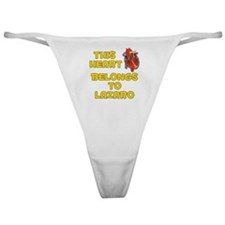 This Heart: Lazaro (A) Classic Thong