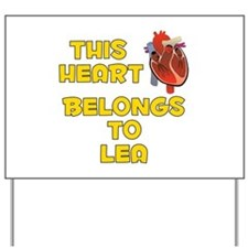 This Heart: Lea (A) Yard Sign