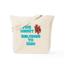 This Heart: Dan (B) Tote Bag