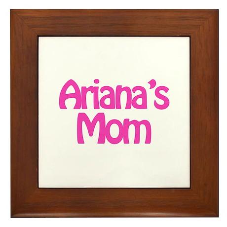 Ariana's Mom Framed Tile