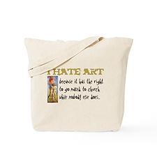 I hate Art Tote Bag