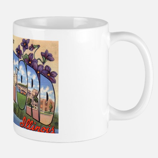 Rockford Illinois Greetings Mug