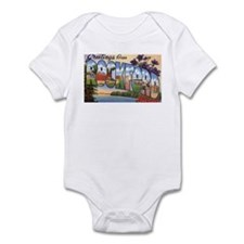 Rockford Illinois Greetings Infant Bodysuit