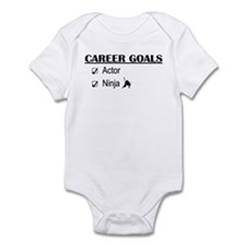 Actor Career Goals Infant Bodysuit