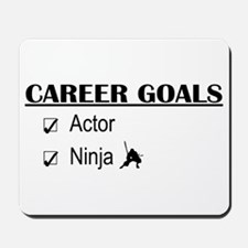 Actor Career Goals Mousepad