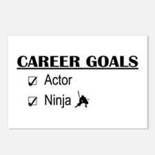 Actor Career Goals Postcards (Package of 8)