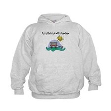 I'd Rather be with Paw Paw Hoodie