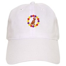 Christmas Ornaments Irish Setter Baseball Cap